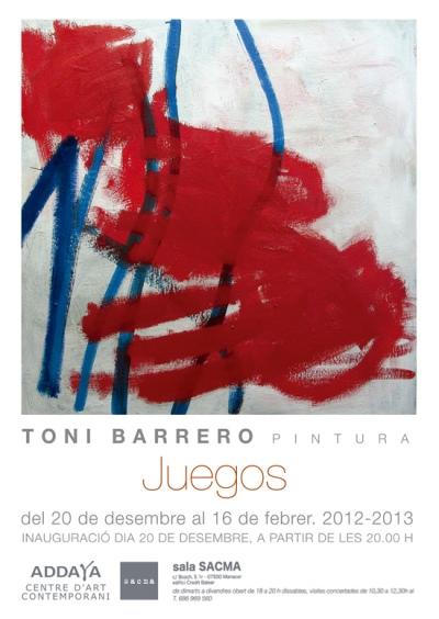 20 dic 2012 - 16 feb 2013 Galería Sacma Manacor, Baleares, España